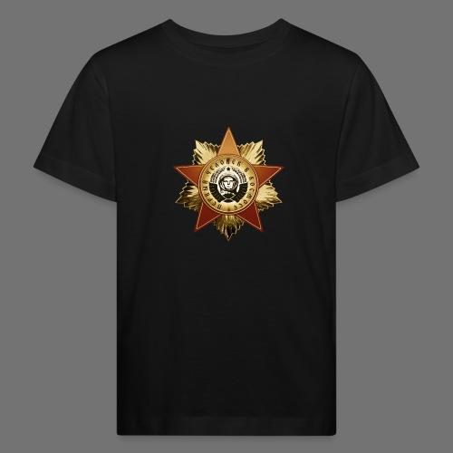 Kosmonautti mitali - Lasten luonnonmukainen t-paita