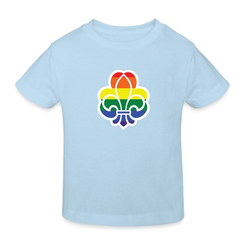 Regnbuespejder jakker og t-shirts mv - Organic børne shirt