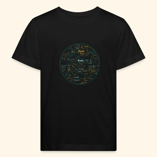 Ich bin - Kinder Bio-T-Shirt