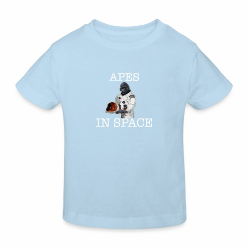 Apes in Space - Kids' Organic T-Shirt