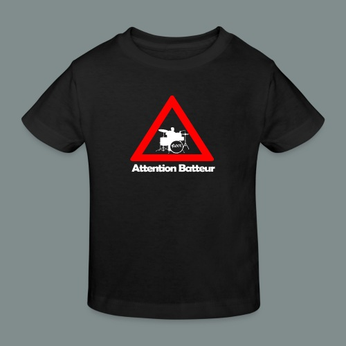 Attention batteur - T-shirt bio Enfant