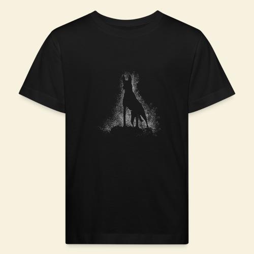 Dog Silhouette - Kinder Bio-T-Shirt
