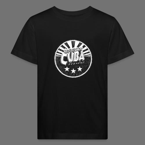 Cuba Libre (1c white) - Kinder Bio-T-Shirt