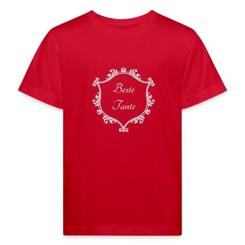 Beste Tante - Kinder Bio-T-Shirt