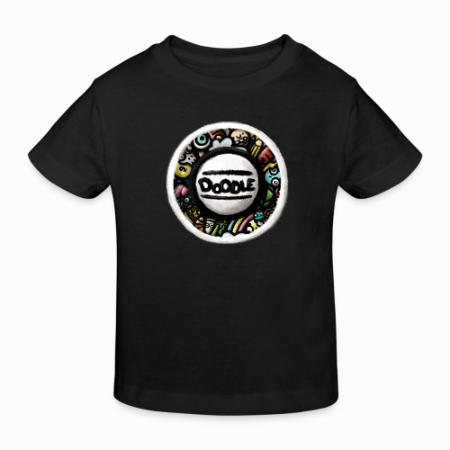 Sticker Doodle Art - T-shirt bio Enfant