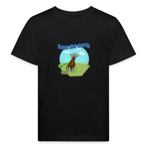 SAVE THE PLANET - T-shirt bio Enfant