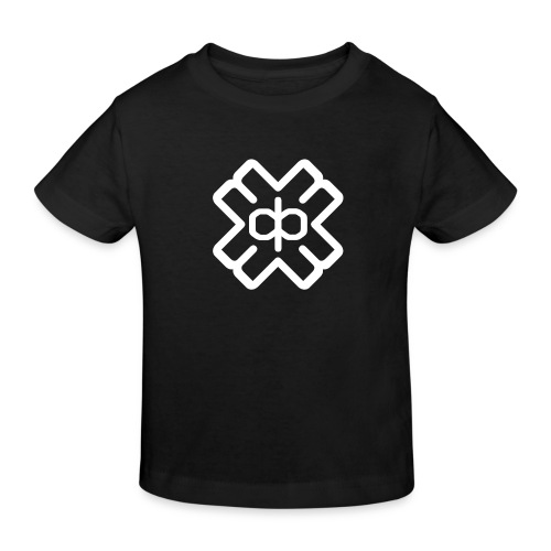 d3eplogowhite - Kids' Organic T-Shirt