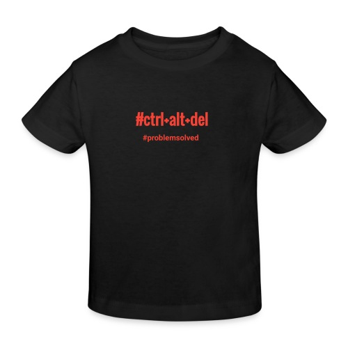 ctrlaltdel - Lasten luonnonmukainen t-paita