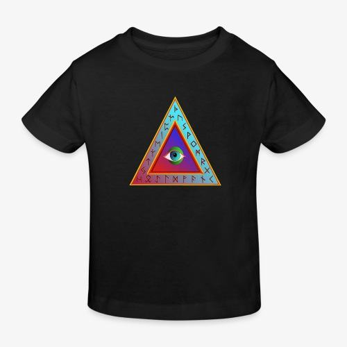Dreieck - Kinder Bio-T-Shirt