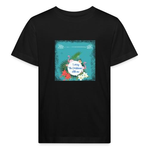 The caribean inside - Camiseta ecológica niño
