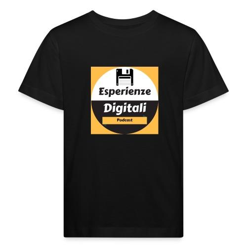 Logo Esperienze Digitali - Maglietta ecologica per bambini
