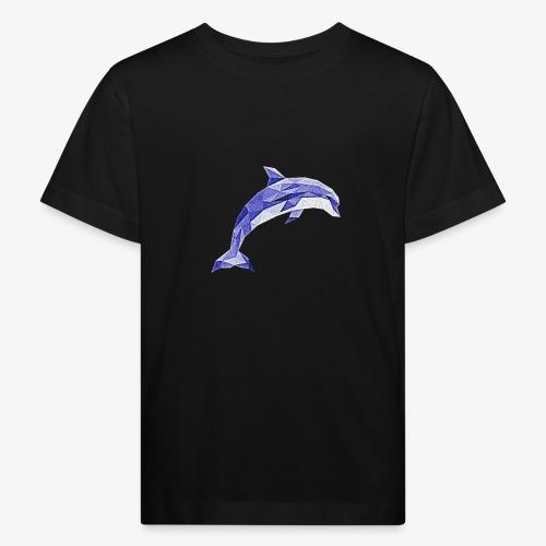 Delfin - Ekologiczna koszulka dziecięca