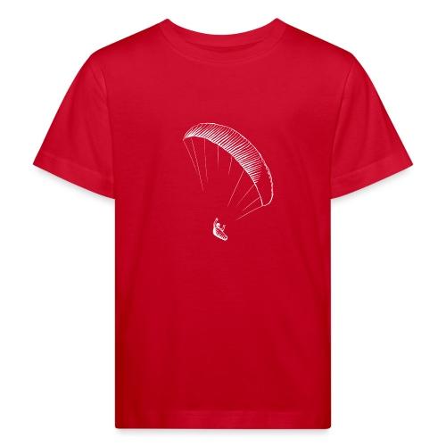 paraglider gerlitzen weiss - Kinder Bio-T-Shirt