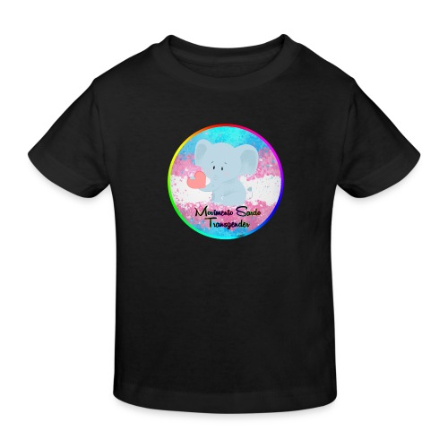 Logo Dell'Associazione Movimento Sardo Transgender - Maglietta ecologica per bambini