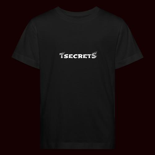 TsecretS white - Kinder Bio-T-Shirt