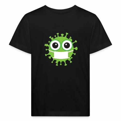Uśmiechnij się pod maską - Ekologiczna koszulka dziecięca