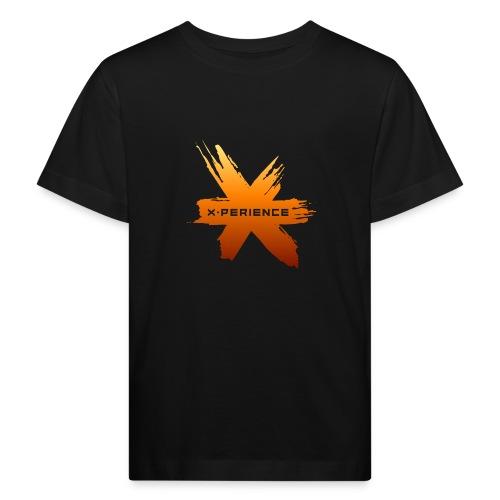 X-Perience Orange Logo - Kinder Bio-T-Shirt