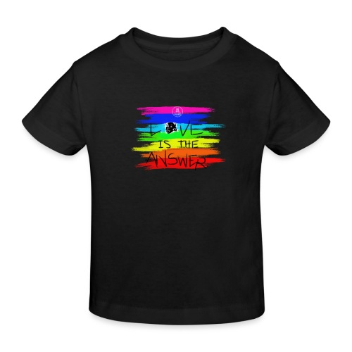 LoveIsTheAnswer MaitriYoga - T-shirt bio Enfant