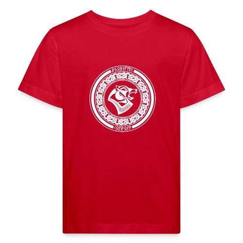 BjörnfellRisingWhite - Lasten luonnonmukainen t-paita