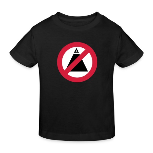 No-Illuminati - T-shirt bio Enfant