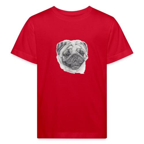 Pug mops 2 - Organic børne shirt