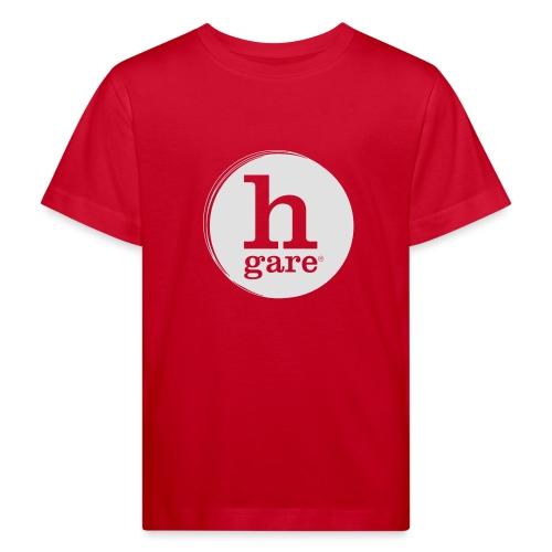 HGARE LOGO TONDO PIENO GIALLO - Maglietta ecologica per bambini