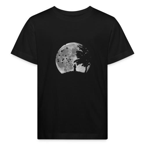 Lune Papillons Ombre - T-shirt bio Enfant