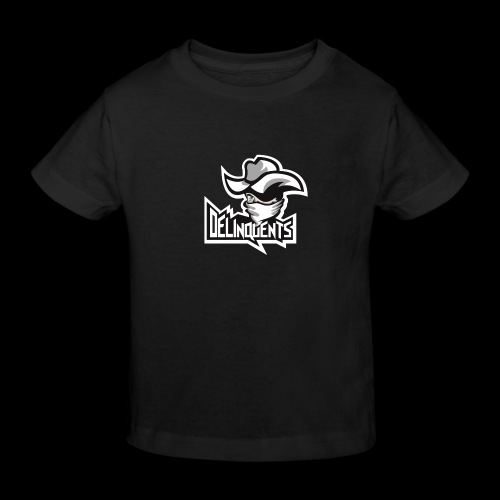 Delinquents TriColor - Organic børne shirt