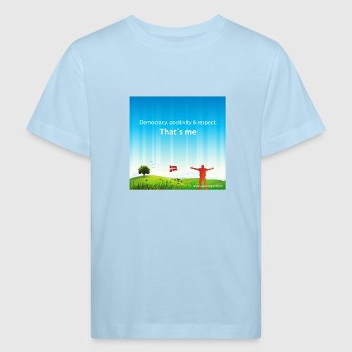 Rolling hills tshirt - Organic børne shirt