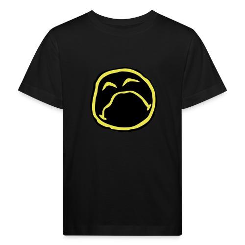 Droef Emoticon - Kinderen Bio-T-shirt