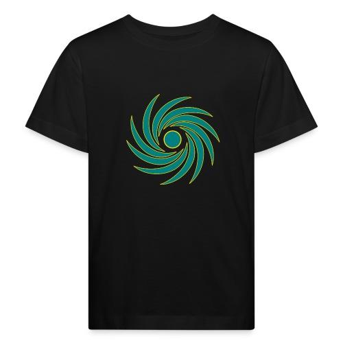 Wirbel - Kinder Bio-T-Shirt