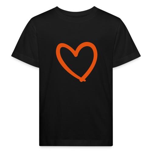 Heart Lines Pixellamb - Kinder Bio-T-Shirt