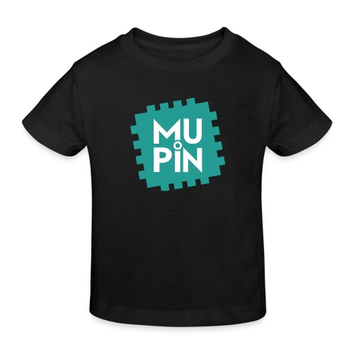 Logo Mupin quadrato - Maglietta ecologica per bambini