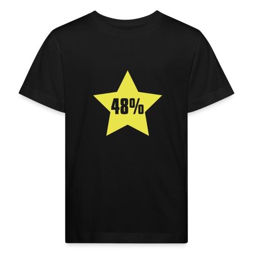 48% in Star - Kids' Organic T-Shirt