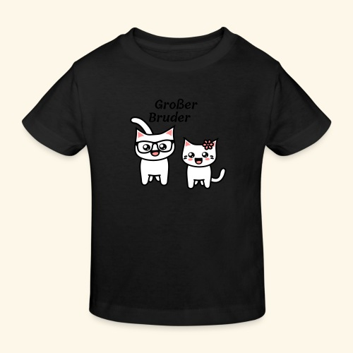 Großer Bruder - Kinder Bio-T-Shirt