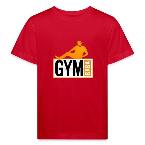 Gym baba 2 orange - T-shirt bio Enfant