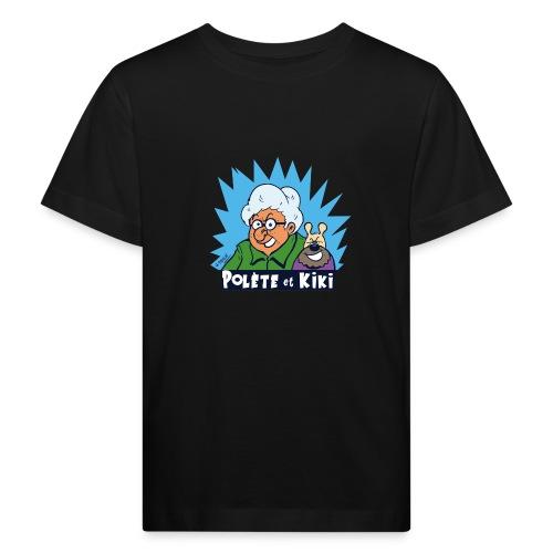 tshirt polete et kiki - T-shirt bio Enfant
