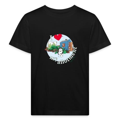 I 'love' my allotment - Kids' Organic T-Shirt