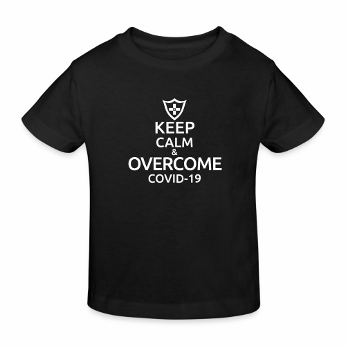 Keep calm and overcome - Ekologiczna koszulka dziecięca