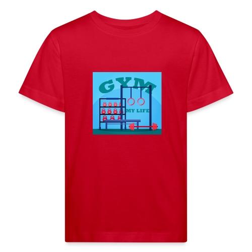 GYM - Lasten luonnonmukainen t-paita