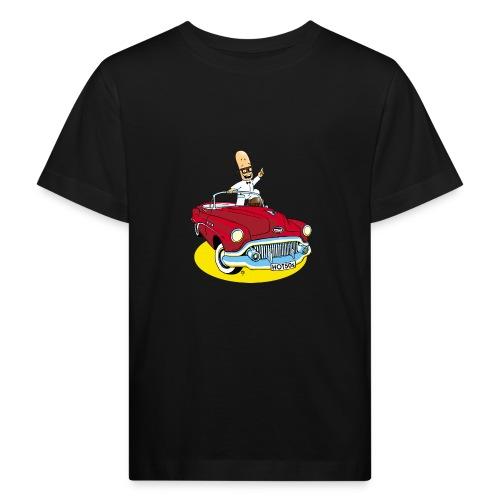 Herr Bohnemann im Buick - Kinder Bio-T-Shirt