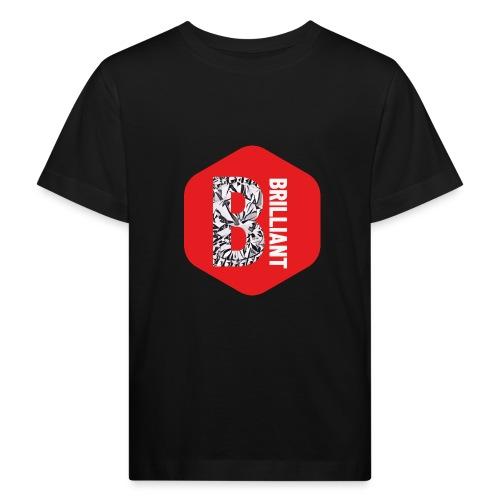 B brilliant red - Kinderen Bio-T-shirt