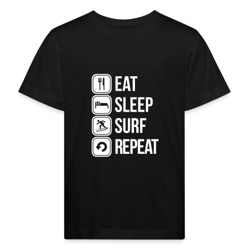 surfboard - Kinderen Bio-T-shirt