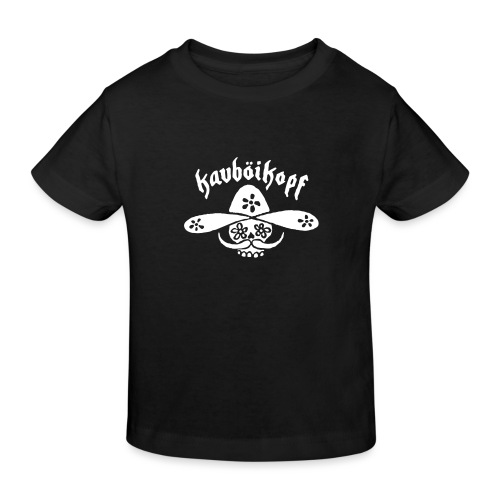 Kauboikopf - Kinder Bio-T-Shirt