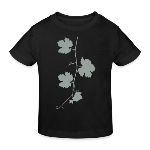weinrebe - Kinder Bio-T-Shirt
