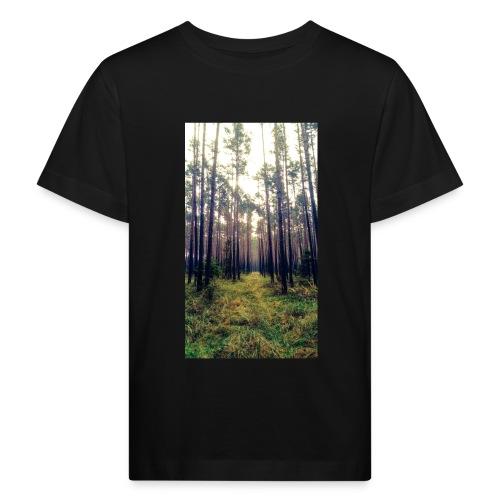 Las we mgle - Ekologiczna koszulka dziecięca