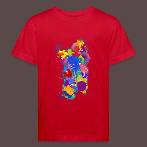 Sardegna Silhouette Paint - Maglietta ecologica per bambini