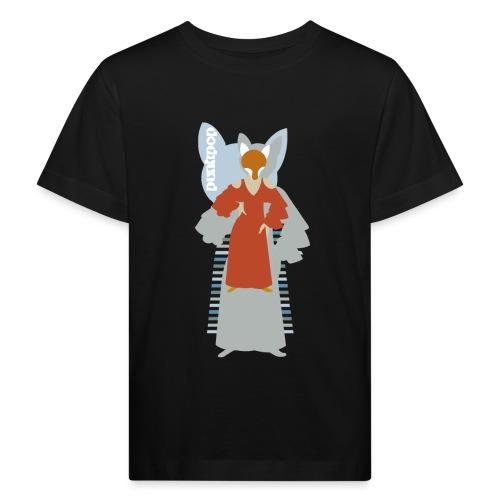 Progressive Fox PunkPop - Maglietta ecologica per bambini