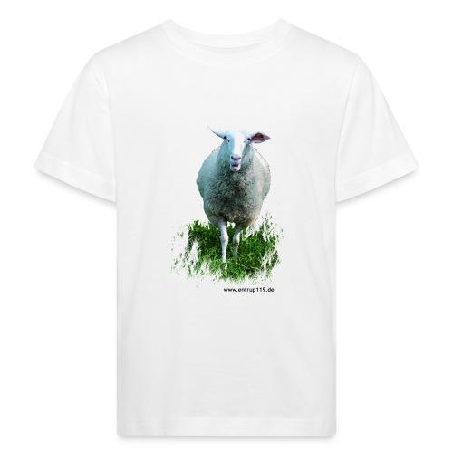 Gemaltes Entrup Schaf - Kinder Bio-T-Shirt