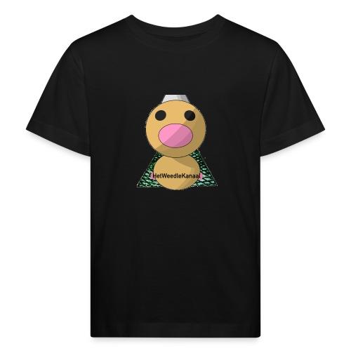 HetWeedleKanaal shirt KINDER EN TIENER MATEN - Kinderen Bio-T-shirt
